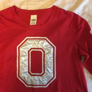 3/4 sleeve Ohio State Shirt